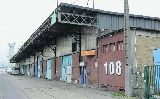 2015 la destruction du hangar 108 rouen association patrimoine s - Ancien batiment industriel a vendre ...